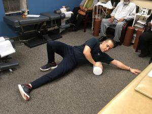 best chiropractor in Rockland, foam roller exercises