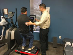 vibration therapy can help with burning fat and balance